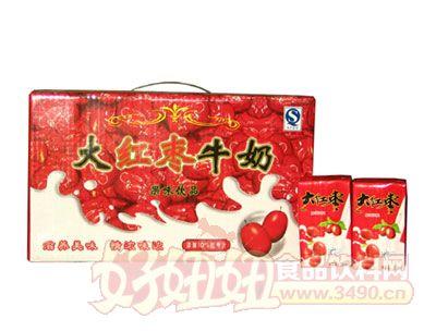 齐乐福大红枣牛奶果味饮品