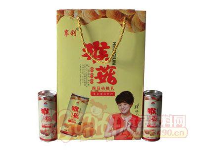 亨利猴菇核桃乳手提礼盒