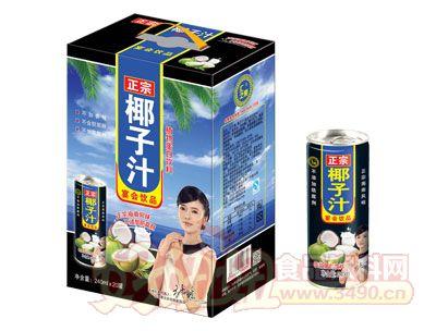 汇之果正宗椰子汁240ml×20罐
