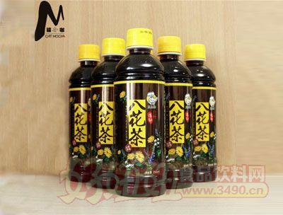 猫咖西�Q堂凉茶饮料低糖八花茶瓶装软饮料