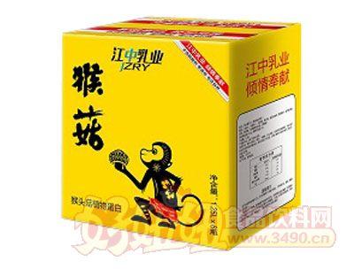 江中乳业猴菇植物蛋白饮料1.25L×6瓶