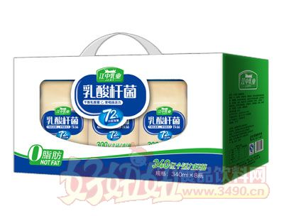 江中乳业乳酸杆菌饮品340ml×15瓶开窗礼盒