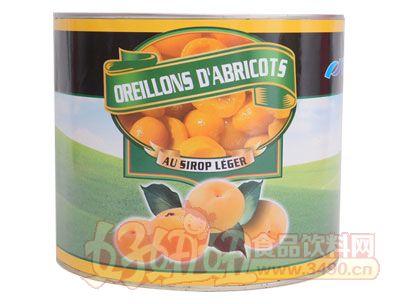 奇伟3kg出口杏罐头