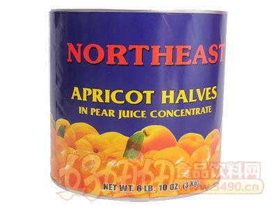 奇伟出口杏罐头3kg