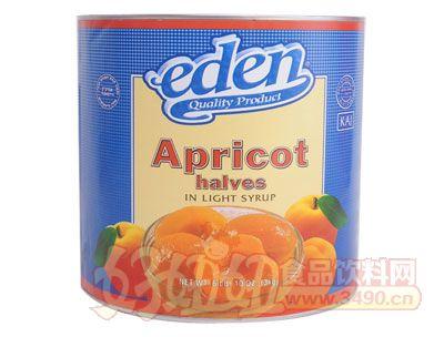 奇伟3kg杏罐头出口