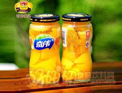 奇伟248g黄桃罐头