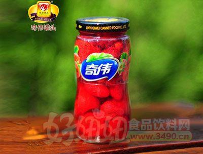 奇伟248g草莓罐头
