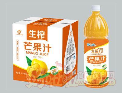 源农生榨芒果汁1.5L×6瓶