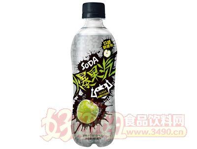 爆果汽苹果汁饮料480ml