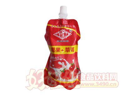 福淋椰果+草莓250ml
