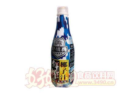 野战兵鲜榨椰子汁植物蛋白饮料1.25L
