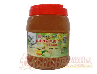 南国仙珍蜜粉桂花浓缩汁