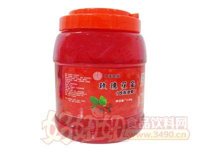 南国仙珍玫瑰花蜜饮料浓浆
