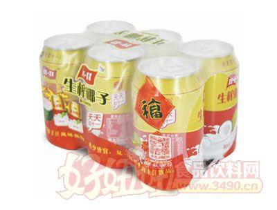 隐雪生榨椰子汁310ml×6瓶