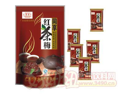 同享红茶梅70g