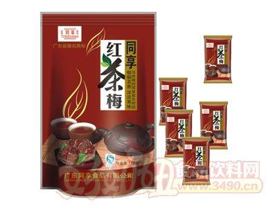 同享红茶梅120g