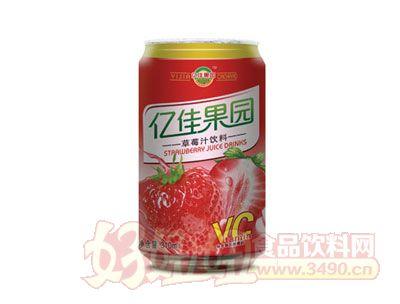 亿佳果园310ml草莓汁