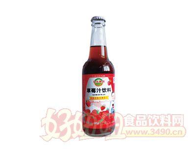 亿佳果园420ml草莓汁