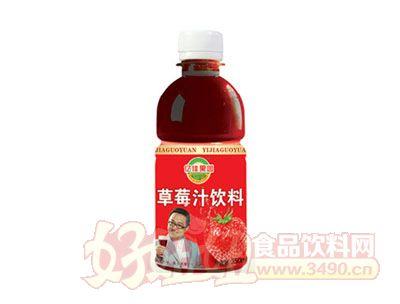 亿佳果园345ml草莓汁