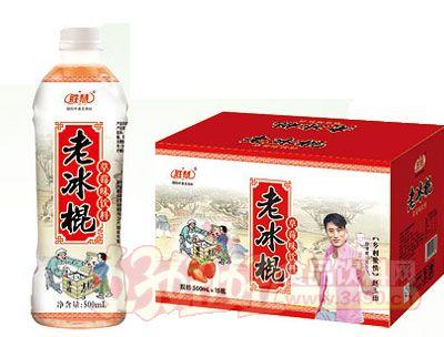 神立老冰棍草莓汁饮料(500ml×15瓶)