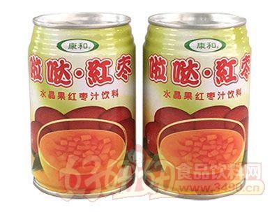 康和啦�}�t��水晶果�t��汁�料280g