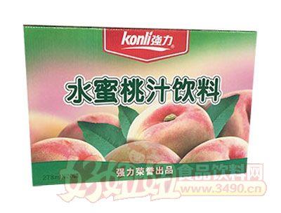 强力水蜜桃汁饮料278mlx20罐