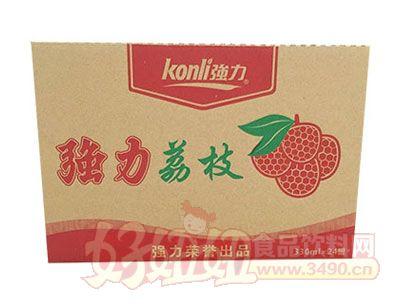 强力荔枝汁330mlx24罐