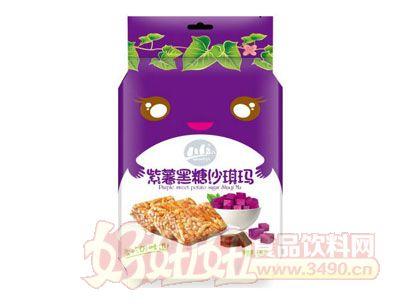川岛紫薯黑糖沙琪玛438g
