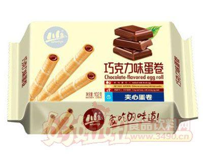 川岛巧克力味夹心蛋卷102g