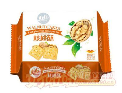 川岛核桃酥酥性饼干112g
