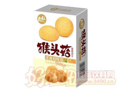川岛猴头菇曲奇饼干106g