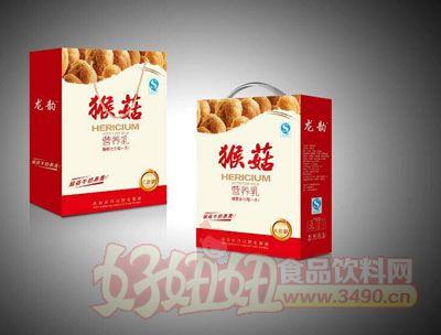 龙韵猴菇营养乳礼盒装