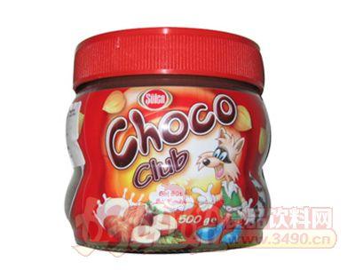 都能巧克力榛子酱正500g