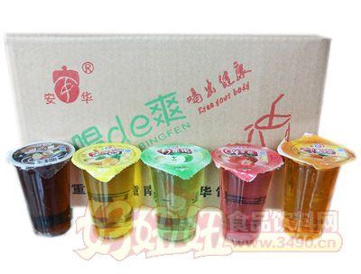 安华甜香橙果味饮料箱