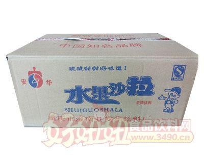 安华水果沙拉果味饮料箱
