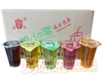 安华青苹果果味饮料箱