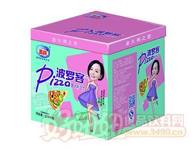 盖能波罗客意大利之恋披萨正方盒酥性饼干1.08kg(正方盒)