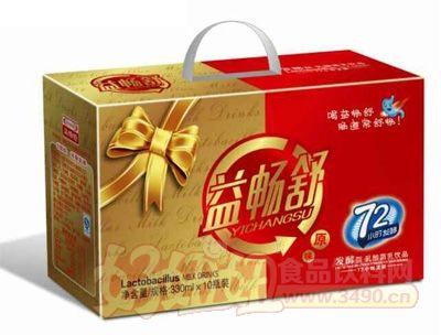 益畅舒330mlx10瓶装发酵型乳酸菌饮品