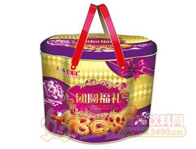 上海越哲团圆福礼曲奇饼干808g