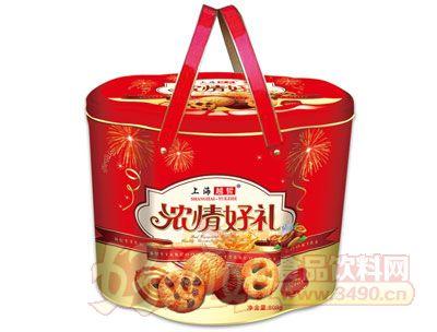 上海越哲浓情好礼曲奇饼干808g