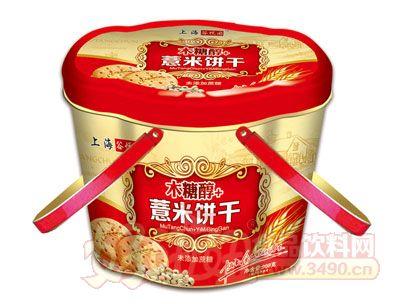 上海谷悦园木糖醇+薏米饼干908g