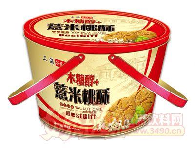 上海谷悦园木糖醇+薏米桃酥768g