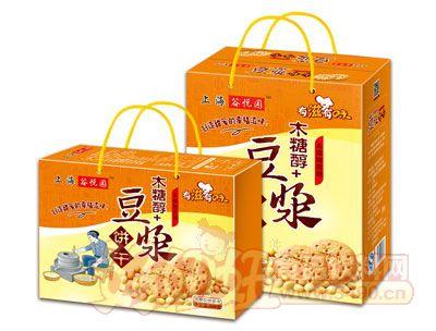 上海谷悦园木糖醇+豆浆饼干868g