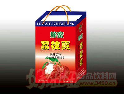 蜂蜜荔枝爽果味饮料标准箱手提袋240ml×20罐