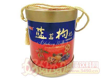 上海谷悦园蓝莓枸杞木糖醇曲奇饼干818g