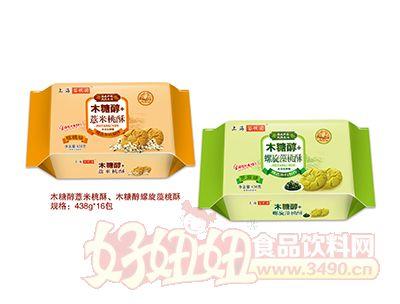 谷悦园木糖醇+桃酥438g