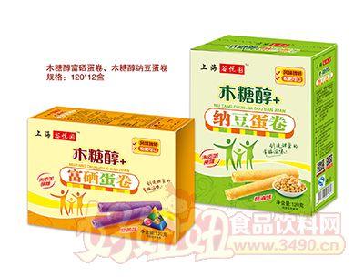 谷悦园木糖醇+蛋卷120g
