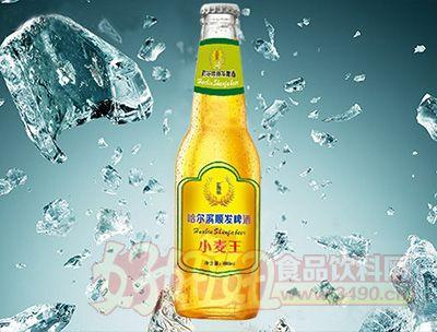 哈尔滨顺发啤酒小麦王瓶