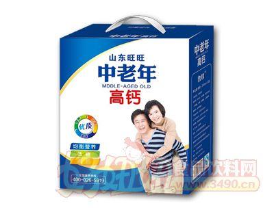 康发中老年高钙奶礼盒