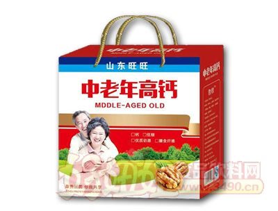 康发中老年高钙礼盒装